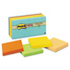 MMM65412SSNRP Farmers Market Super Sticky Notes, Unlined, 3 x 3, 12 90-Sheet Pads/Pack MMM 65412SSNRP