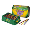 CYO688054 Colored Wood Pencil Trayola, 3.3 mm, 9 Assorted Colors, 54 Pencils/Set CYO 688054