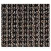 CWNOE0046BR Oxford Elite Wiper/Scraper Mat, 48 x 72, Black/Brown CWN OE0046BR