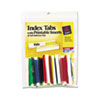 AVE16239 Self-Adhesive Tabs with White Printable Inserts, Two Inch, Assorted Tab, 25/Pack AVE 16239