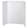 PAC37634 Spotlight Corrugated Presentation Display Boards, 48 x 36, White, 4/Carton PAC 37634