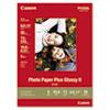 CNM2311B001 Photo Paper Plus Glossy II, 69 lbs., 8-1/2 x 11, 20 Sheets/Pack CNM 2311B001