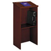 SAF8915CY Stand-Up Lectern, 23w x 15-3/4d x 46h, Cherry SAF 8915CY