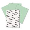 SGH046000 Digital Vellum Bristol Color Cover, 67 lb., 8-1/2 x 11, Green, 250 Sheets/Pack SGH 046000