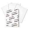 SGH016000 Digital Vellum Bristol White Cover, 67 lb., 8-1/2 x 11, White, 250 Sheets/Pack SGH 016000