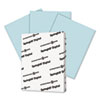 SGH025100 Digital Index Color Card Stock, 90 lbs., 8-1/2 x 11, Blue, 250 Sheets/Pack SGH 025100