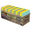 MMM65424NHCP Farmers Market Super Sticky Notes Cabinet Pack, 3 x 3, 24 70-Sheet Pads/Pack MMM 65424NHCP