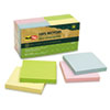 RTG26704 100% Recycled Notes, 3 x 3, Four Colors, 12 100-Sheet Pads/Pack RTG 26704