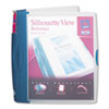 Avery® Silhouette™ Durable Plastic View Binder with Round Rings | www.SelectOfficeProducts.com