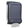SJMT1700TBK Classic Large Cap. Ultrafold Towel Dispenser, 11 3/4 x 6 1/4 x 18, Black Pearl SJM T1700TBK