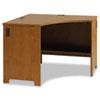 BSHPR76320 Envoy Corner Desk Shell, 42-1/8w x 42-1/8d x 30-1/4h, Natural Cherry BSH PR76320