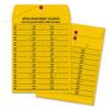 QUA63562 Brown Kraft String & Button Box-Style Interoffice Envelope, 10 x 13, 100/Box QUA 63562