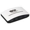 TRPU360004R 4-Port USB 3.0 Mini Hub, White TRP U360004R