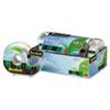MMM6123 Magic Greener Tape in Refillable Dispenser, 3/4