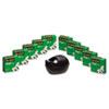 MMM810K10C36B Magic Tape Value Pack with Black Karim Rashid Dispenser, 3/4