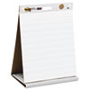 MMM563PRL Self-Stick Tabletop Easel Ruled Pad, Command Strips, 20 x 23, White, 20 Shts/Pad MMM 563PRL