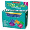 SHS0545318645 Trait Crate, Grade 8, Six Books, Learning Guide, CD, More SHS 0545318645