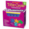 SHS0545318637 Trait Crate, Grade 7, Six Books, Learning Guide, CD, More SHS 0545318637