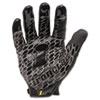 IRNBHG03M Box Handler Gloves, 1 Pair, Black, Medium IRN BHG03M