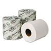 WAU54900 EcoSoft Green Seal Bathroom Tissue, 2-Ply, 500 Sheets, 96 Rolls/Carton WAU 54900