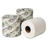 WAU14800 EcoSoft Green Seal Bath Tissue, One/Two-Ply, 48/CT WAU 14800