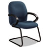 GLB4565BKPB08 Enterprise Series Side Arm Chair, Polypropylene Fabric, Navy GLB 4565BKPB08