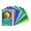 PAC102942 Tru-Ray Construction Paper, 76 lbs., 9 x 12, Assorted, 50 Sheets/Pack PAC 102942