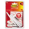 MMM17003VP3PK General Purpose Hooks Value Pack, Large, Holds 5-lb, White, 3/Pack MMM 17003VP3PK