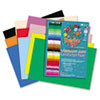 RLP60002 Heavyweight Construction Paper, 58 lbs., 12 x 18, Assorted, 50 Sheets/Pack RLP 60002