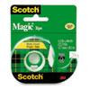 MMM119 Magic Tape w/Refillable Dispenser, 1/2