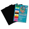 RLP62503 Heavyweight Construction Paper, 58 lbs., 18 x 24, Black, 50 Sheets/Pack RLP 62503