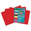 RLP61902 Heavyweight Construction Paper, 58 lbs., 12 x 18, Red, 50 Sheets/Pack RLP 61902