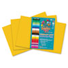 RLP63402 Heavyweight Construction Paper, 58 lbs., 12 x 18, Yellow/Orange, 50 Sheets/Pack RLP 63402