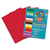 RLP68803 Heavyweight Construction Paper, 58 lbs., 18 x 24, Holiday Red, 50 Sheets/Pack RLP 68803
