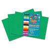 RLP63302 Heavyweight Construction Paper, 58 lbs., 12 x 18, Medium Green, 50 Sheets/Pack RLP 63302