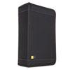 CLGCDW128T CD/DVD Wallet Holds 136 Discs, Nylon, Black CLG CDW128T
