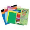 RLP76401 Premium Sulphite Construction Paper, 76 lbs., 9 x 12, Assorted, 50/Pack RLP 76401