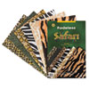 PAC57770 Fadeless Safari Prints Paper, 50 lbs., 12 x 18, 24 Sheets/Pack PAC 57770