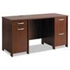 BSHPR76560A2 Envoy Double Pedestal Desk, 58w x 23-1/4d x 30-1/4h, Hansen Cherry, Box 2 of 2 BSH PR76560A2