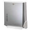 SJMT1905XC True Fold Metal Front Cabinet Towel Dispenser,11 5/8 x 5 x 14 1/2, Chrome SJM T1905XC