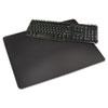 AOPLT412MS Rhinolin II Desk Pad with Microban, 24 x 17, Black AOP LT412MS