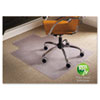 ESR141042 Natural Origins Chair Mat With Lip For Carpet, 53