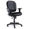 ALEWR42BME10B Wrigley Series Mesh Mid-Back Chair, Black ALE WR42BME10B