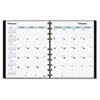 REDCF1200C81 MiracleBind 17-Mo. Academic Planner, Hard Cover, 9-1/4 x 7-1/4, Black, 2012-2013 RED CF1200C81