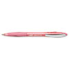 BICVCGAP4SGK Atlantis Ballpoint Retractable Pen, Pink Ink, Medium, 4 per Pack BIC VCGAP4SGK