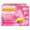 ALA130204 Immune Defense Drink Mix, Pink Lemonade, 0.3 oz, Packet, 50/Pack ALA 130204