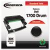 IVRE330DR Compatible Remanufactured 310-5404 (E330) Toner, 30000 Page-Yield, Black IVR E330DR