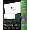 AVE48163 EcoFriendly Labels, 2 x 4, White, 1000/Pack AVE 48163