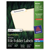 AVE48266 EcoFriendly Labels, 2/3 x 3-7/16, White, 750/Pack AVE 48266