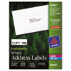 AVE48460 EcoFriendly Labels, 1 x 2-5/8, White, 3000/Pack AVE 48460